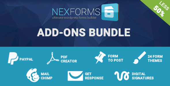 NEX-Forms - The Ultimate WordPress Form Builder 3