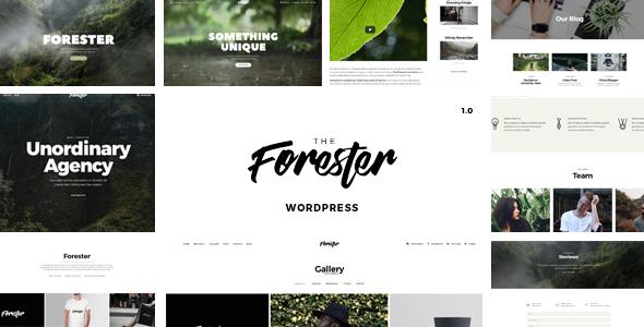 Forester - Elementor Creative Portfolio WordPress Theme