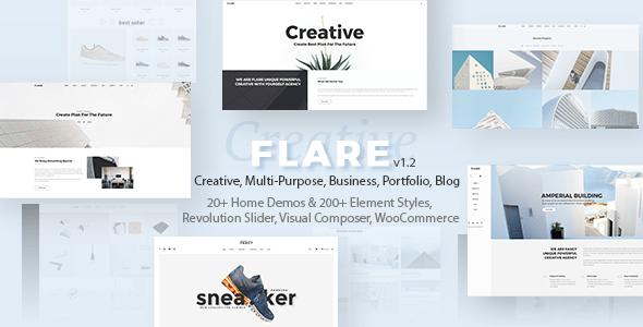 Responsive Flexible WordPress Theme   Flare