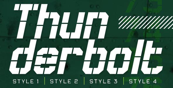Free Font Thunderbolt Download