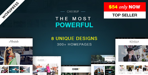 Free Download CheerUp Blog / Magazine - WordPress Blog Theme