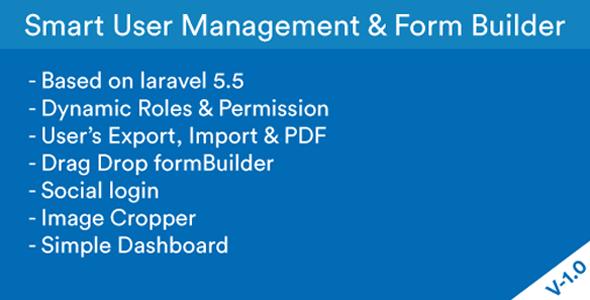 Smart Login - User Management & Form Builder