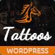 Download Tattoos - WordPress Theme from ThemeForest