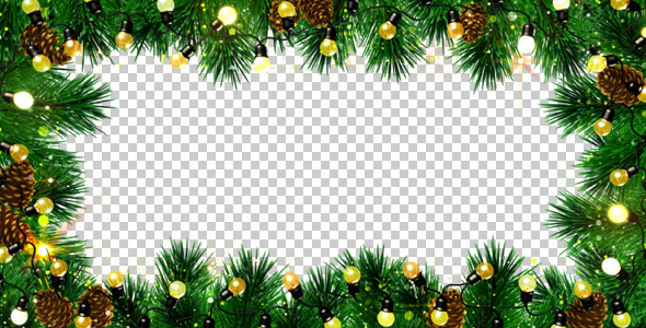 Christmas Frame By AS100 VideoHive