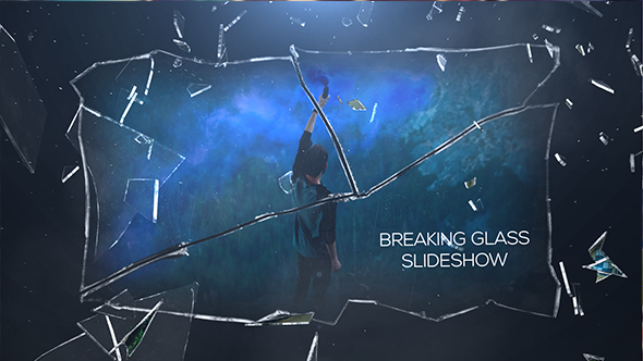 Breaking Glass Slideshow by D_Cooper | VideoHive
