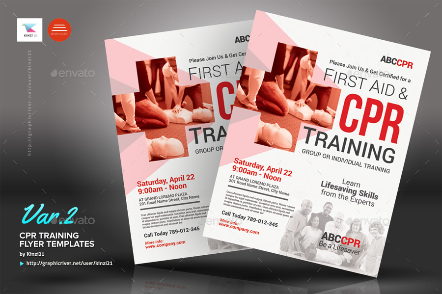 CPR Training Flyer Templates by kinzi21   GraphicRiver screenshots 01 graphic river cpr training flyer templates kinzi21 jpg  screenshots 02 graphic river cpr training flyer templates kinzi21 jpg