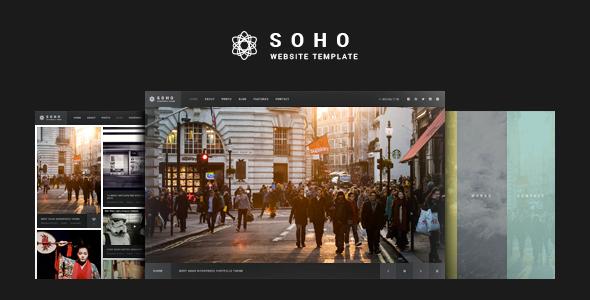 Soho - Fullscreen Photo & Video Web Template