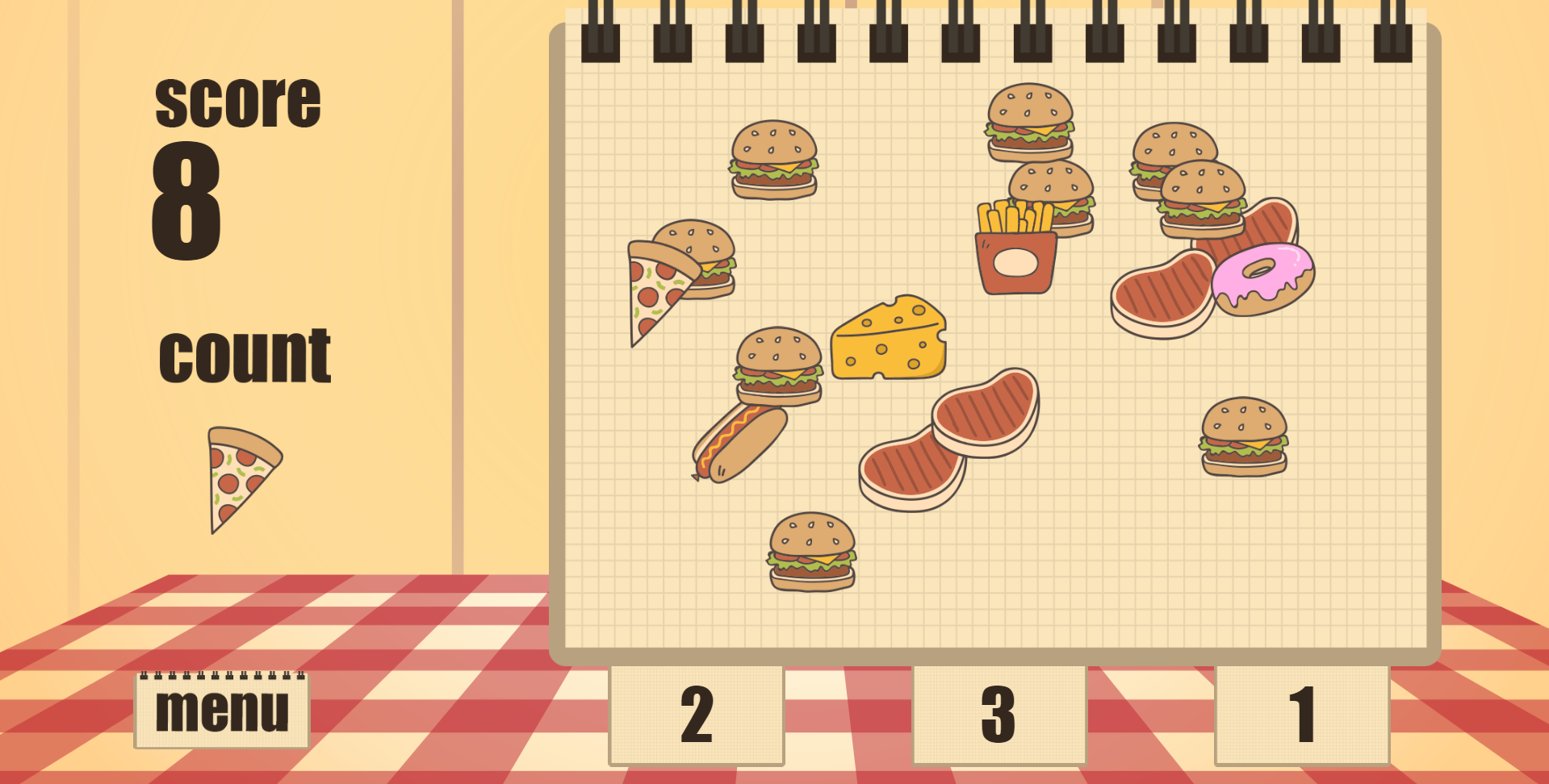 Math Game Food Count By Sparximer