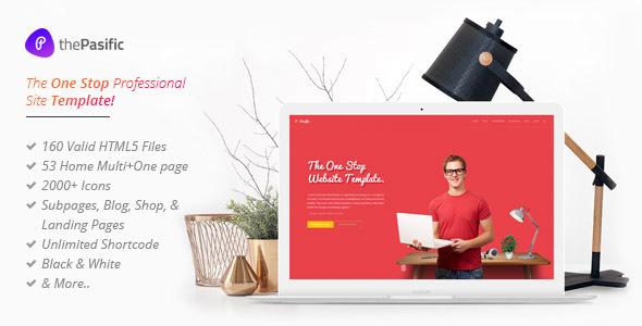 Pasific | Professional Multipurpose HTML5 Template