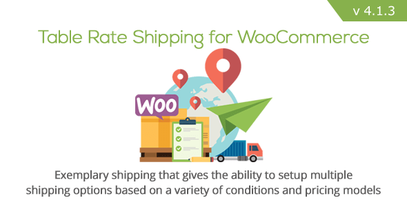 Table Rate Shipping for WooCommerce
