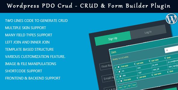 PDO Crud – Advanced PHP CRUD application (Form Builder & Database Management) - 2