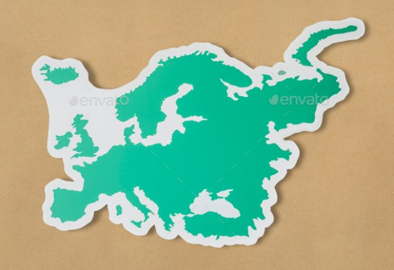 Blank map of Europe and countries Stock Photo by Rawpixel   PhotoDune Blank map of Europe and countries   Stock Photo   Images