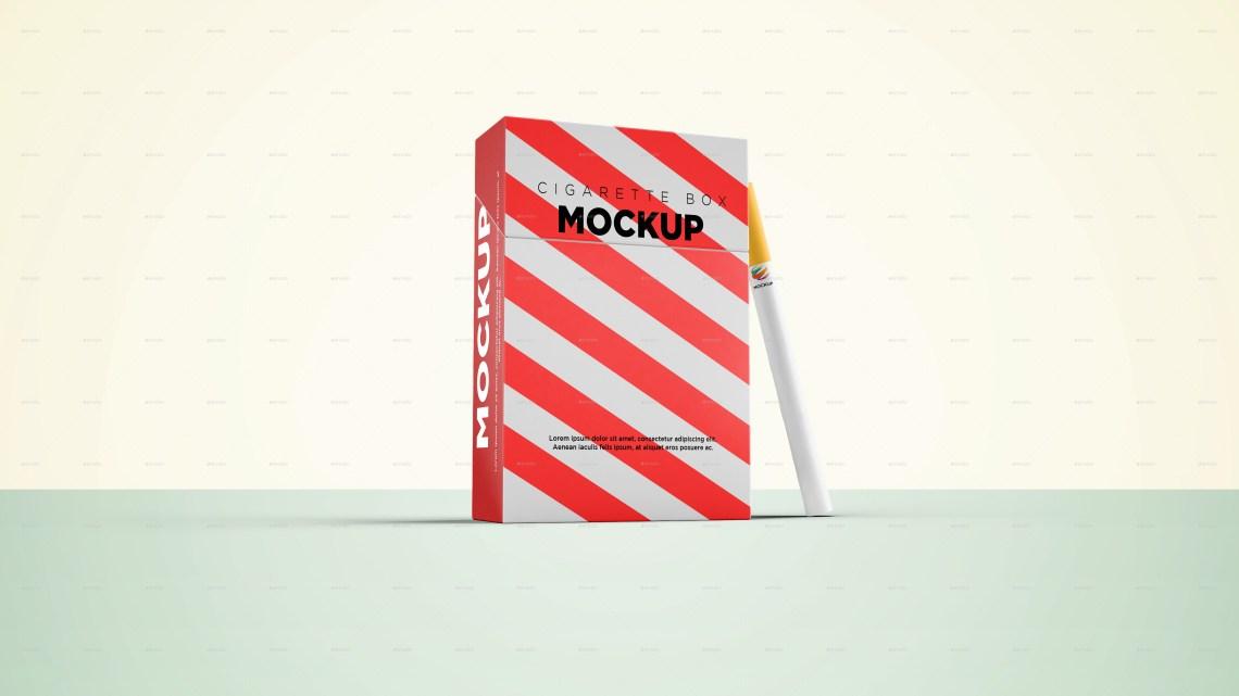 Download Cigarette Box Mockup by graphicdesigno | GraphicRiver