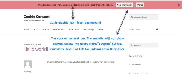 Cookie GDPR Consent