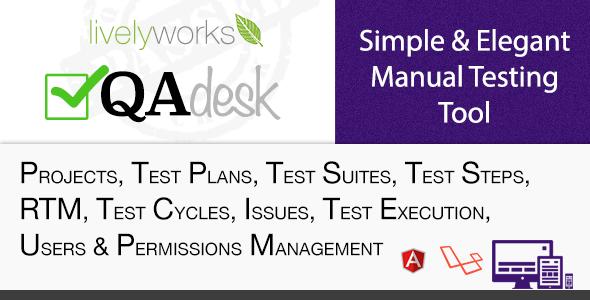 QA Desk - Simple & Elegant Manual Test Management Tool