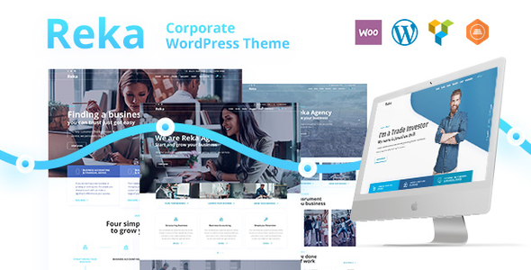 Reka Business | A Contemporary Business WordPress for Business