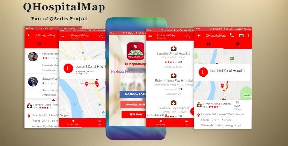 QHospitalMap – Hospitals, Medicals, Blood Banks, Pharmacies, Dental and Diagnostics Finder qhospitalmap