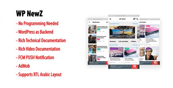 Wordpress Mobile Daily News App Android | WP NewZ » webtralia.com