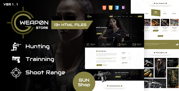 Crafter - Tattoo Bootstrap Landing Page Template - 15