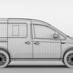 Volkswagen Caddy 2018 By Creator 3d 3docean