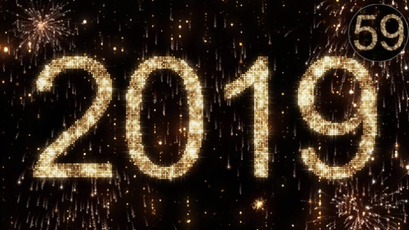 New Year Countdown 2019 After Effects HD Video Template