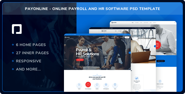 Download this premium psd file about human resource and job search website template in dark mode, and discover more than 17 million professional graphic. Payonline Online Payroll And Hr Software Psd Template By Layerdrops