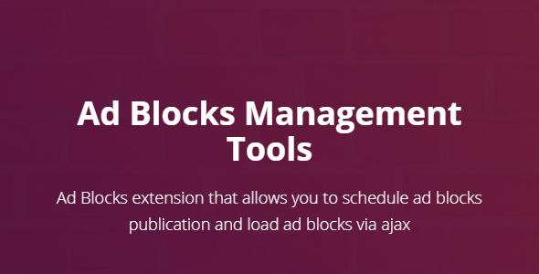Ad Blocks Management Tools