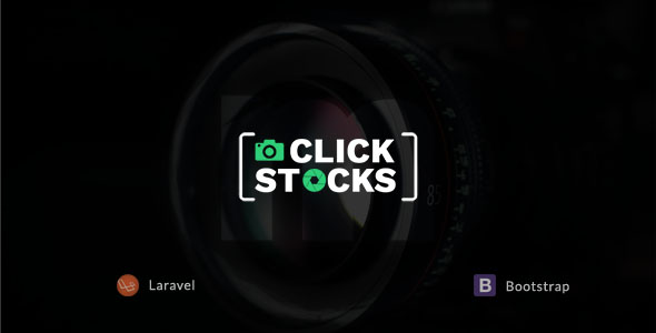 Click Stocks - Free Stock Photos Laravel Script