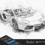 Pencil Sketch Pencilum Real Hand Drawn Photoshop Plugin By Profactions
