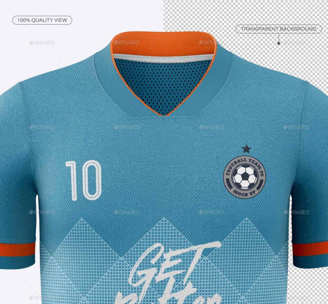 Download Men's Soccer Jersey Mockup V1 by TRDesignme | GraphicRiver