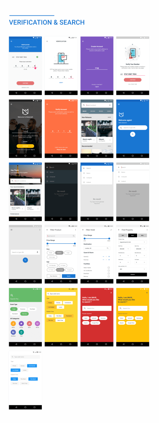 MaterialX - Android Material Design UI Components 2.6 - 45