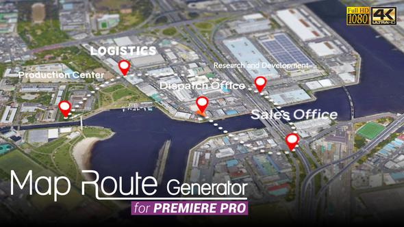 Map Route Generator - 16