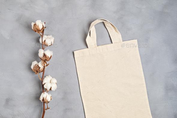 Use this eco bag beige shopping bag flat illustrati Placeit Cotton Tote Bag Mockup Zero Waste Living Sustainability Eco Friendly Lifestyle Stock Photo By Oksaly