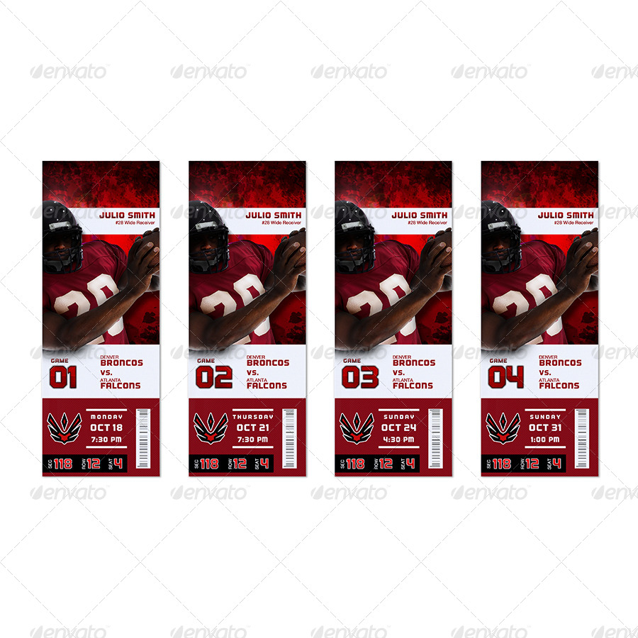 Event Ticket Template Mock Up Combo 20 By SB5000 GraphicRiver