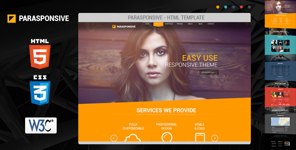 html5 css3 web templates for startups