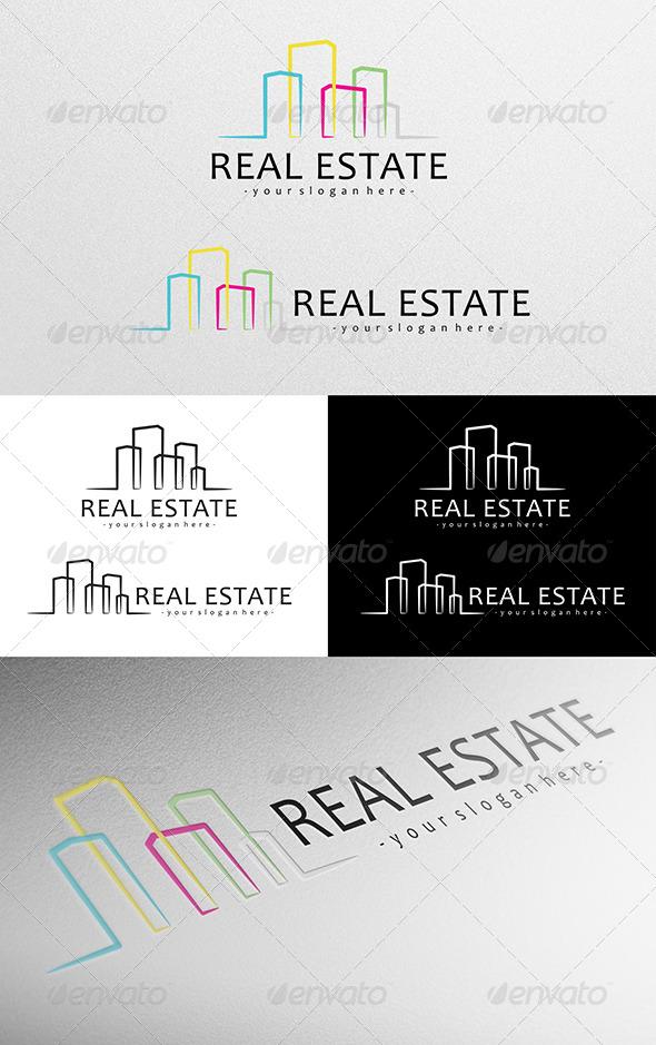 Real Estate Logo - Abstract Logo Templates