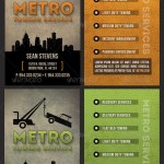 Towing Industry Business Card Template By Godserv Graphicriver