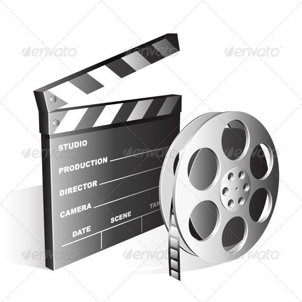 Movie Symbols by timurock GraphicRiver