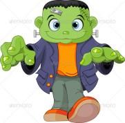 Image result for frankenstein kid