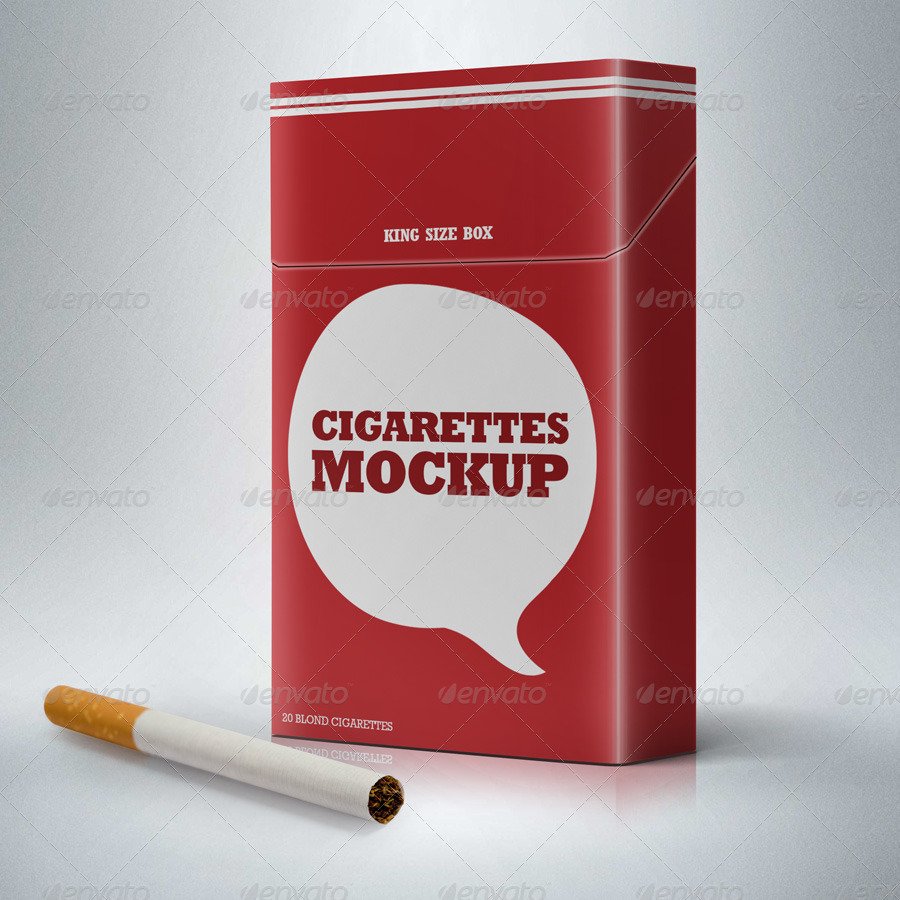 Download Cigarette Package Mock-Up by garhernan | GraphicRiver