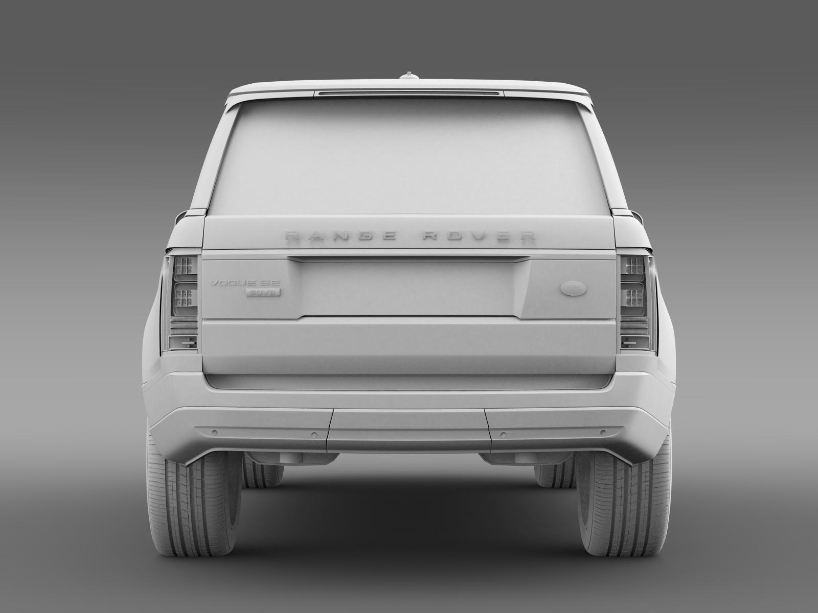 Range Rover Vogue SE SDV8 L405 by creator 3d