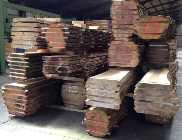 boomstammen en hout plaathout