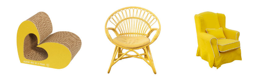 Fauteuil Jaune Awesome Fauteuil Jaune Pivotant Assise