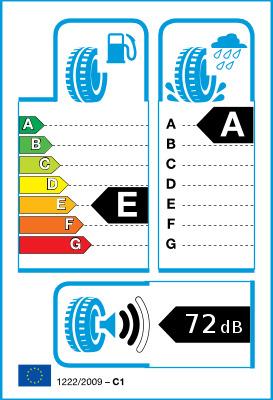 Etichetta Europea del Pneumatico (CE) 1222/2009