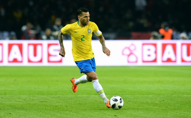 Image result for dani alves right back