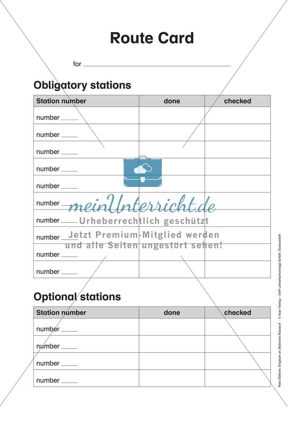 Stationenlernen In Der 9 Klasse Mediation And