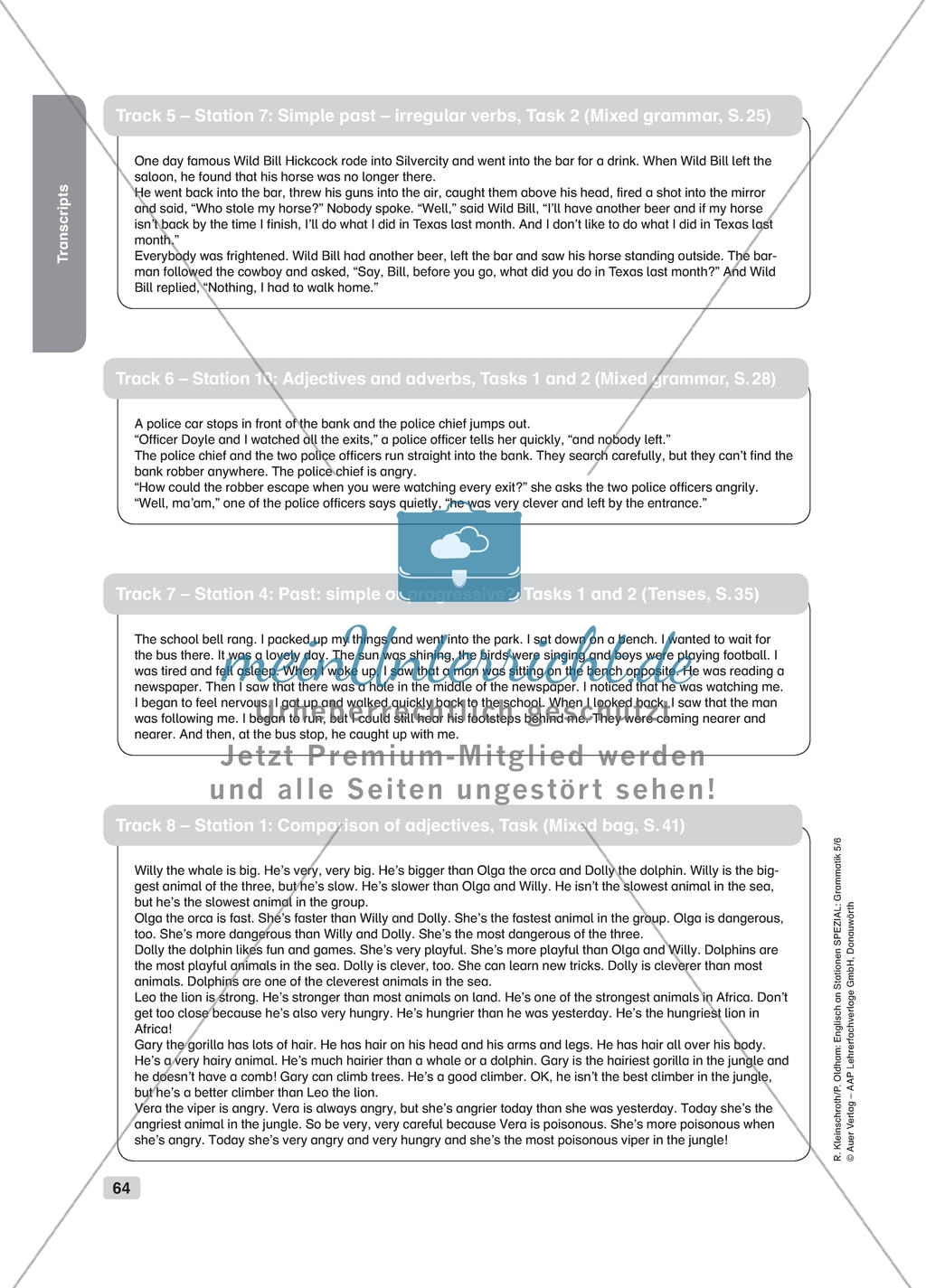 Grammar Adjectives And Adverbs Worksheets And Solutions