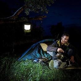 LE Lanterna LED, 4 Modalità 10W 1000lumen Lampada Campeggio Impermeabile per Emergenze Escursioni Pesca Trekking - 1