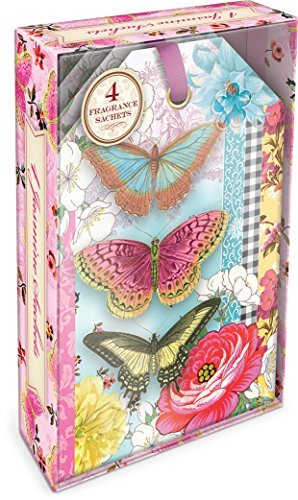 Punch Studio Butterfly Kimono Boxed Sachets by Punch Studio - 1