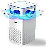 ICCKER Lampada Anti Zanzare Elettronico Insetti Volanti Killer con USB Insetti Killer trappola per zanzare 50 m² di Luce UV 35dB 4W per cucina domestica Giardino Patio - 1